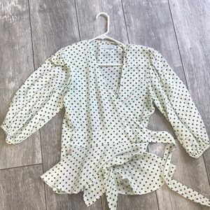 Size small faithful the brand wrap top